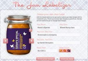 kate39s short and sweets design your own canning label With create your own labels free