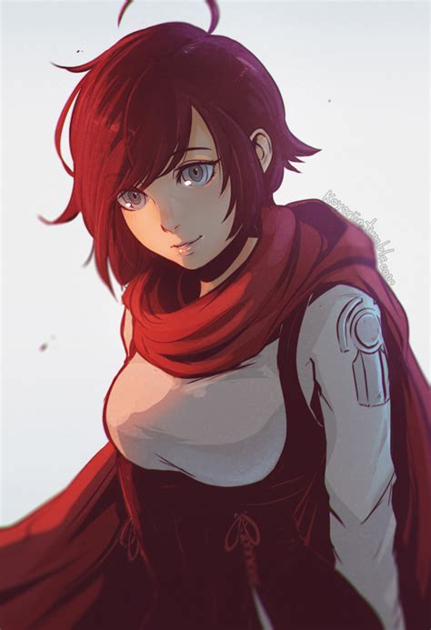 ruby rose rwby fanart ruby by koyorin on deviantart