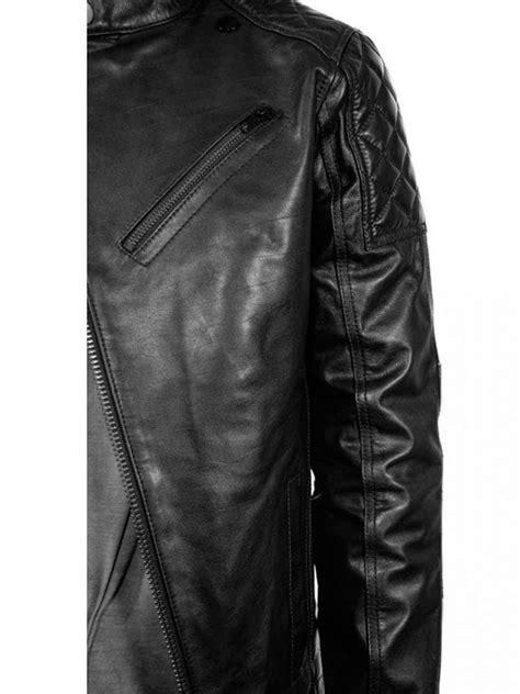 MGSV Leather Jacket | Big Boss Motorcycle Leather Jacket