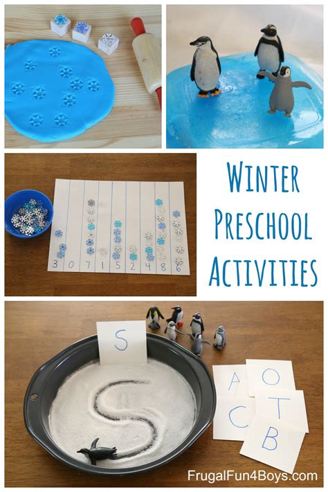 winter learning activities for preschool frugal for 410 | Winter Preschool Pin 2