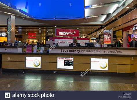 dublin airport bureau de change airside heathrow stock photos airside heathrow stock