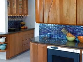 kitchen cabinets and backsplash blue tiles kitchen backsplash with wooden cabinets and black counter top artenzo