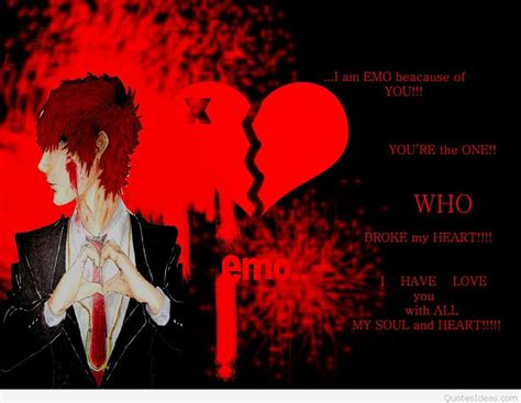Anime Sad Boy Wallpaper - broken sad quotes with pictures and wallpapers hd