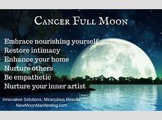 Super Sensitive – Cancer Full Moon – New Moon Manifesting