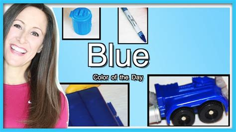 color blue song blue is the color of the day children s song learn
