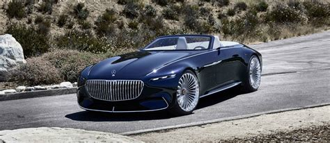 Mercedes-maybach Unveils Its Vision 6 Cabriolet