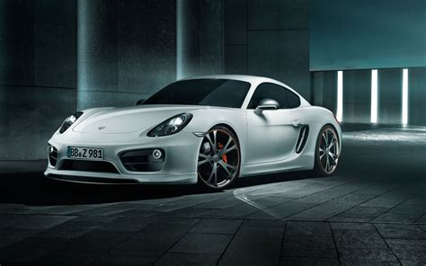 2013 Porsche Cayman By Techart Wallpapers