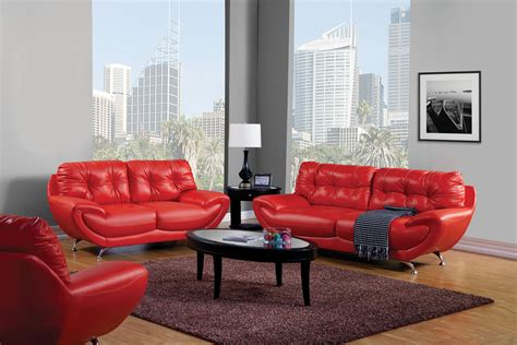 Grey Living Room Red Couch Living Room