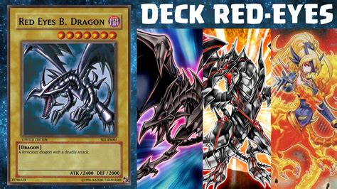 deck profile quot red eyes quot yu gi oh duel generation youtube