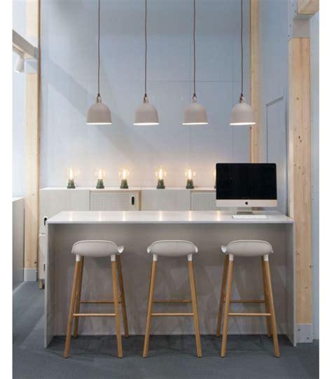 tabouret d ilot de cuisine tabouret de bar carré en métal et bois bar design et
