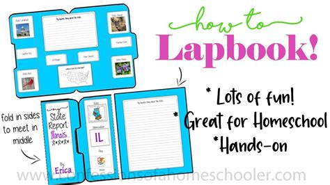 How to Lapbook Tutorial - YouTube