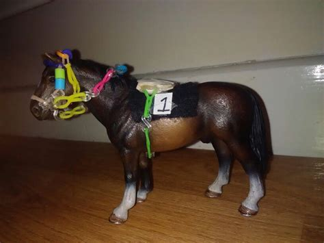 tack schleich horses horse racing