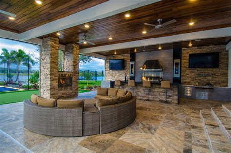 Outdoor Living Addition   Contemporary   Patio   tampa