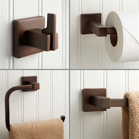 modern bathroom accessory signature hardware