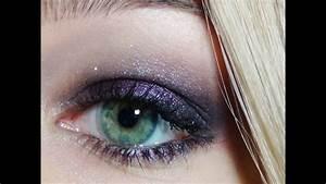 Maquillage Mariage Yeux Vert : tutoriel maquillage violet id al pour faire ressortir ~ Nature-et-papiers.com Idées de Décoration