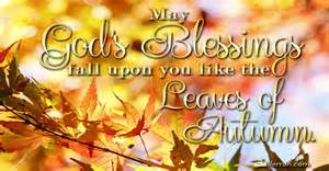 blessing card god 39 s blessing for fall