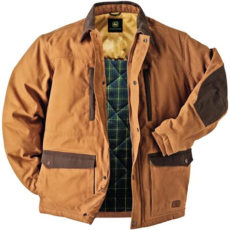 s barn coat deere 174 3m thinsulate insulated duck barn coat brown