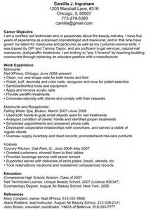 nail salon manager resume sle salon business nail techs how to write a resume nail careers