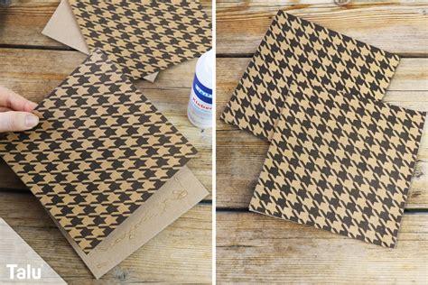 handfcher selber basteln aus scrapbookingpapier basteln mit