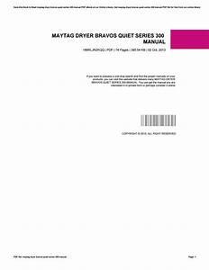 Maytag Dryer Model Mde9316ayw Manual