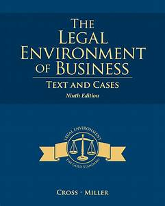 Solution Manual For The Legal Environment Of Business Text