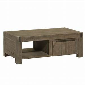 Table De Salon Moderne : table basse en acacia contemporaine sophia ~ Preciouscoupons.com Idées de Décoration