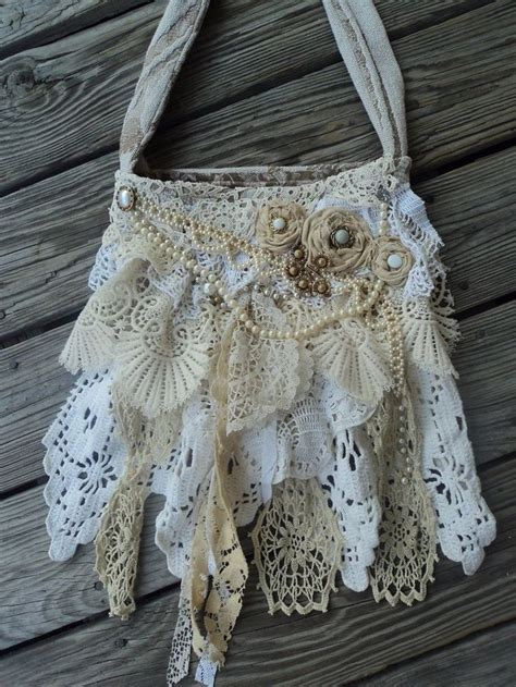 shabby chic bags 25 best ideas about shabby chic crafts on pinterest shabby chic flowers decorated clothes