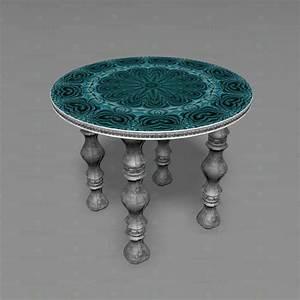 Runder Tisch Kaufen : 3d modell runder tisch herunterladen ~ Markanthonyermac.com Haus und Dekorationen