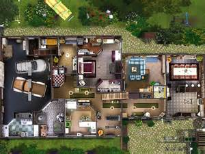 2 master bedroom house plans sims 3 residential lotta restored farm gulfhaus