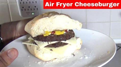 fryer air frozen oven 360 patties power burger double cheeseburger