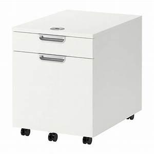 GALANT Caisson Tiroir Classeur Blanc IKEA