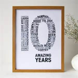 10th wedding anniversary ideas personalised anniversary print by mrs l cards notonthehighstreet