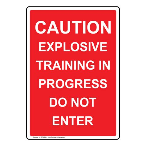 Portrait Caution Explosive Training In Progress Sign Nhep. Sample Advertisement For Tutoring Template. Printable Pet Sitter Checklist Template. Nursing Student Cover Letter Samples Template. Running Title Scientific Paper Template. Writing Your Cover Letters Template. Restaurant Gift Certificates Template. Reference Letter For A Chef Template. Background Check Form Template