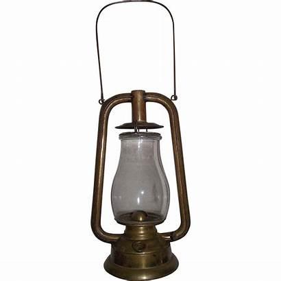 Dietz Lantern Brass Tubular Antique Rare