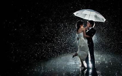 Rain Dancing Night Rainy Couples Couple Wallpapers