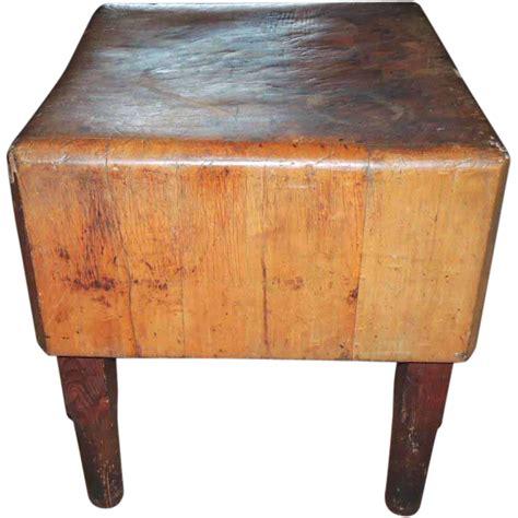primitive kitchen furniture antique primitive maple butcher block table from