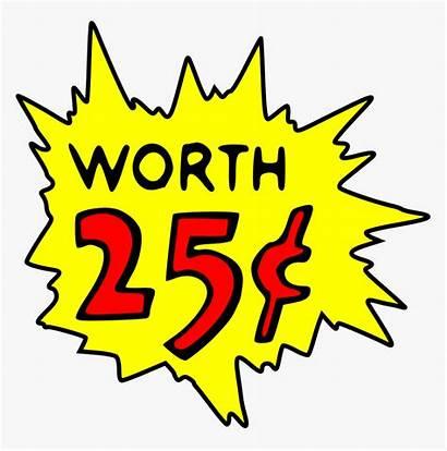 Cents Cent Clipart Sign Worth Clip Money