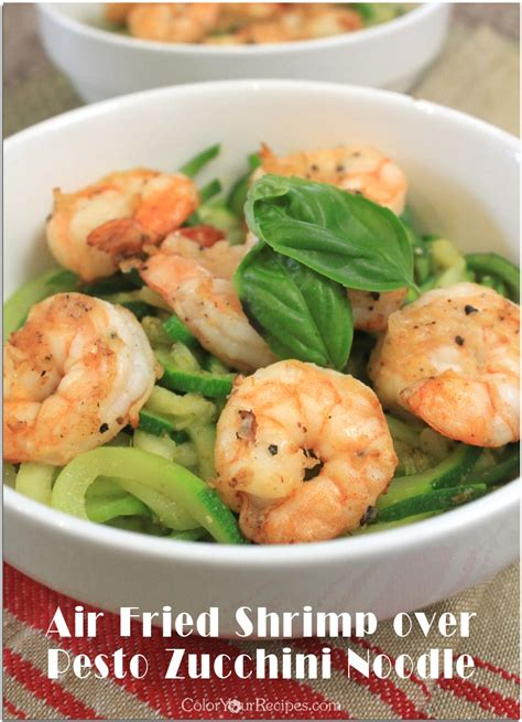 air zucchini fried shrimp recipes noodles fryer recipe pesto using easy noodle might hope enjoy looks simple take want