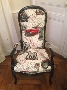 Fauteuil Voltaire Moderne : fauteuil voltaire relook le coin gamer ~ Teatrodelosmanantiales.com Idées de Décoration
