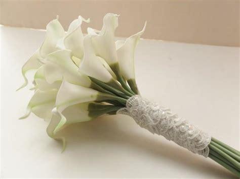 Bridesmaid Bouquets, Ivory Calla Lily Bridesmaid Bouquet