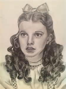 Dorothy From Wizard of Oz Drawing