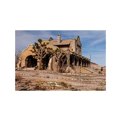 Obsidian ArchitectureBend central Oregon architect - Dropping In On The Ruins Of Rhyolite