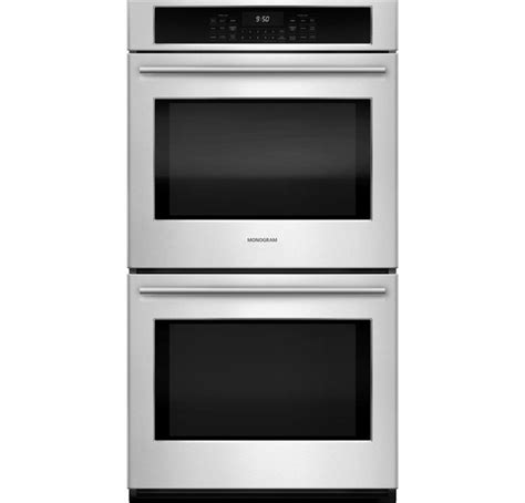 ge monogram double electric wall oven wall design ideas