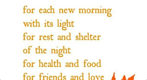 Thanksgiving Poems  Easy  Thanksgiving Blessings