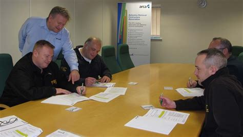 arca delivers bespoke asbestos training