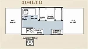 Used 2012 Forest River Rv Flagstaff Mac Ltd Series 206ltd Folding Pop
