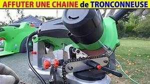 Affuteuse Chaine Tronconneuse Electrique : affuter une chaine de tron onneuse avec affuteuse ~ Dailycaller-alerts.com Idées de Décoration