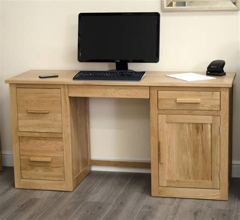 Office Desk Oak by Arden Solid Oak Home Office Furniture Large Computer Pc