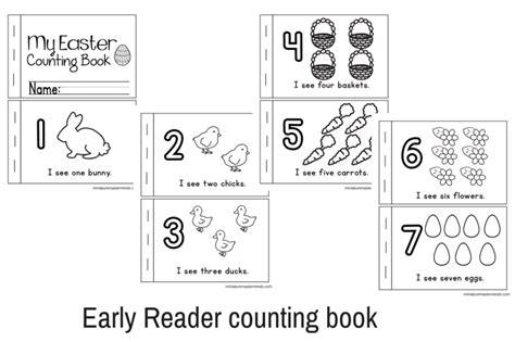 preschool activity books free download printable kindergarten books easter no prep preschool and 171