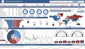 excel dashboards excel dashboards vba and more With banking dashboard templates